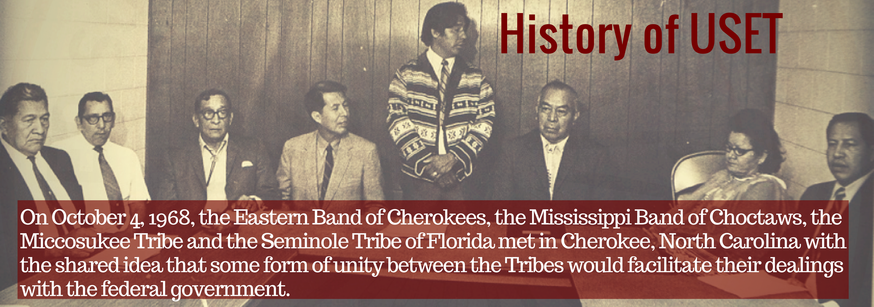 About USET | United South & Eastern Tribes