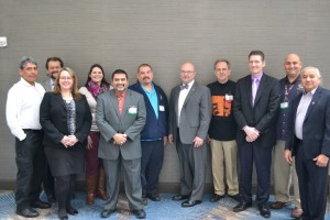 USET Tribal Emergency Service Committee members with David Munro (Center in bow tie).