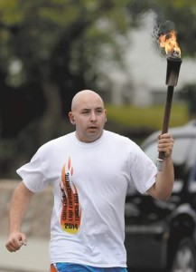 Special Olympics torch begins winding way through region