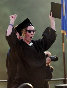A word of advice for Montville High School grads: Courage