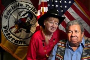 Vietnam vet wins battle to honor Native Americans