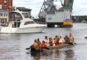"""ICT Article – """"Eastern Nations United By Mission Mishoon: Dugout Canoe Returns to Mystic"""""""
