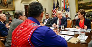 Trump meets with Tribes re: energy production  6/28/2017