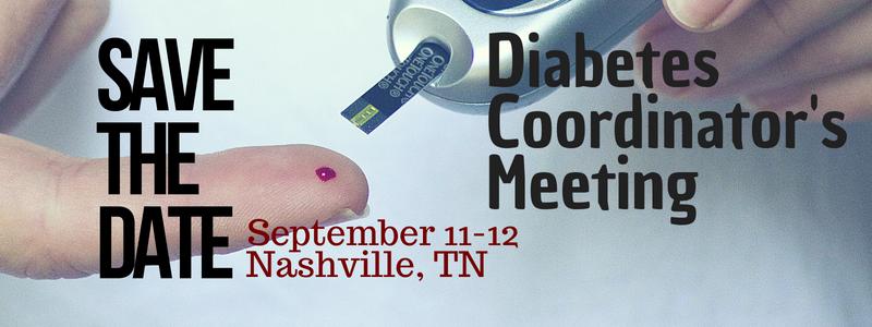 Sept 11-12 Diabetes Coordinator mtg
