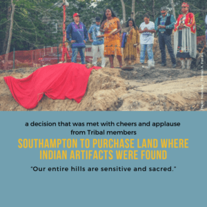 Southampton to purchase land where Indian artifacts were found 10/15/2018
