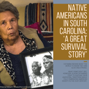 Native Americans in South Carolina: 'A great survival story' 1/4/2019