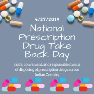 Prescription Drug Take Back Day – April 27, 2019