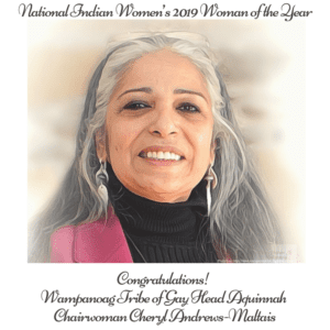 Dartmouth High grad Cheryl Andrews-Maltais named Woman of the Year by National Indian Women 4/6/2019