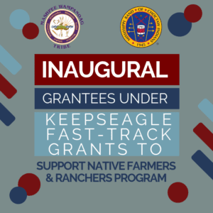 First Nations Awards 17 Keepseagle Fast-Track Grants Choctaw Fresh Produce MBCI & Mashpee Wampanoag Tribe among recipients 4/11/2019