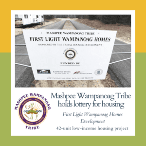 Mashpee Tribe holds lottery for housing 4/14/2019