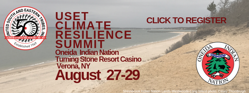 USET Climate Resilience Summit in Oneida Aug 27-29 large box (2)