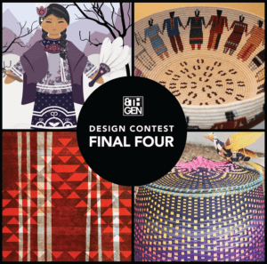 Eighth Generation 2019 Wool Blanket Design Contest finalists announced of the four finalists two are from USET Region – Geo Neptune (Passamaquoddy at Indian Township) & Sydney Jacobs (Mohawks of Akwesasne)