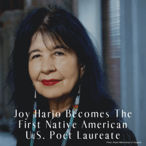 Joy Harjo Becomes The First Native American U.S. Poet Laureate 6/19/2019