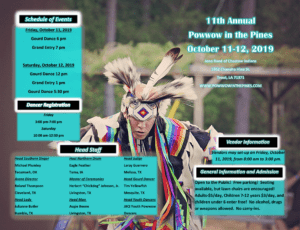 Jena Band of Choctaw Indians Pow Wow Trout, LA October 11-12