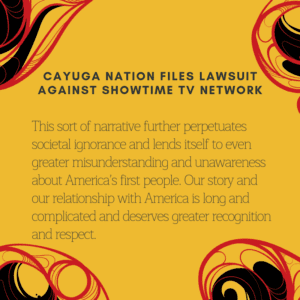 Cayuga Nation files lawsuit against Showtime TV network
