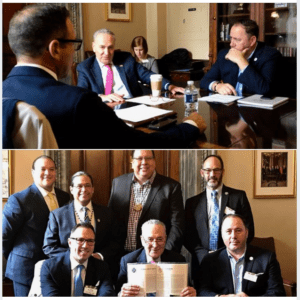 USET Joins Meeting with Senator Schumer – December 4