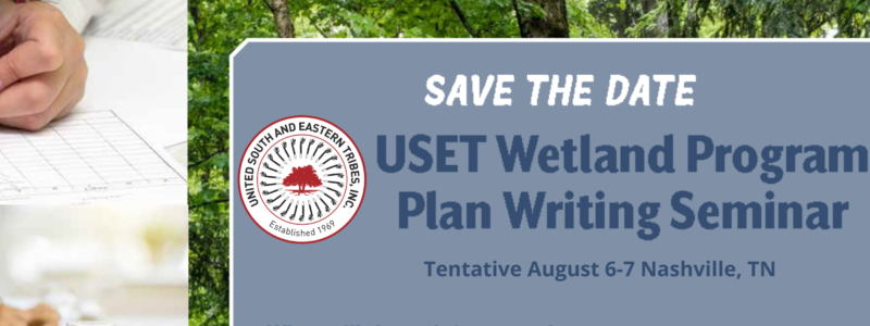wetland Program writing seminar