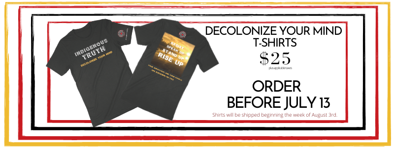 LB Decolonize your mind t shirt sale