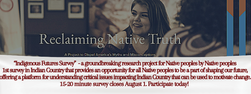 Reclaiming Native Truth survey