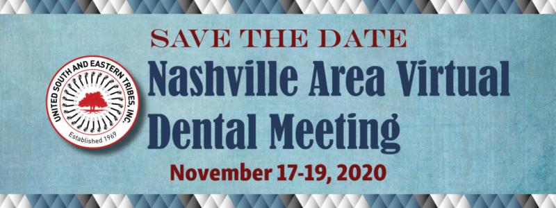 2020 Nashville Area Virtual Dental Meeting – webLB