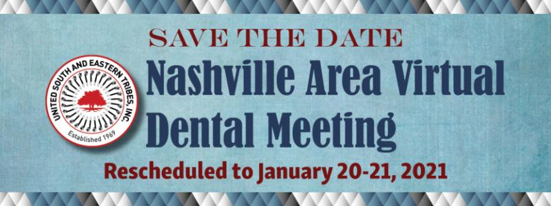 2021-Nashville Area Virtual Dental Meeting