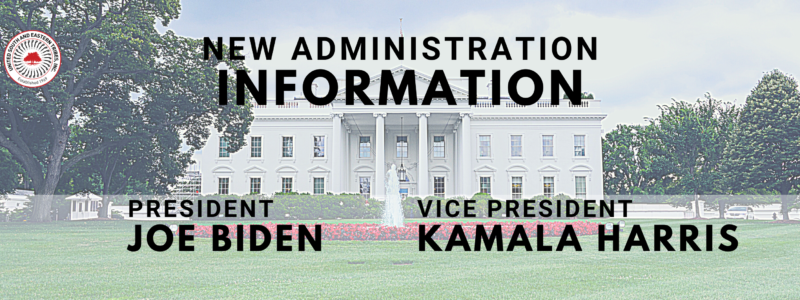 New Administration info