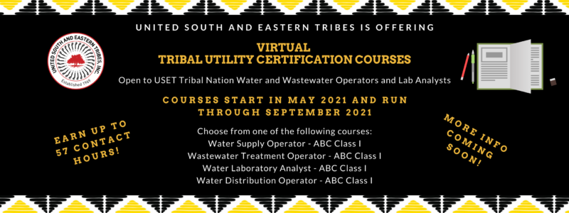 Website Graphic Coming Soon Tribal Utility Cert Courses