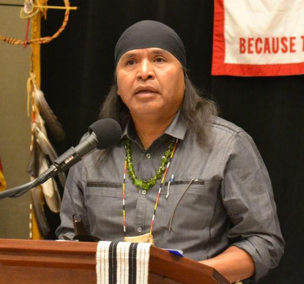 San Carlos Apache Tribal Council Member Wendsler Nosie