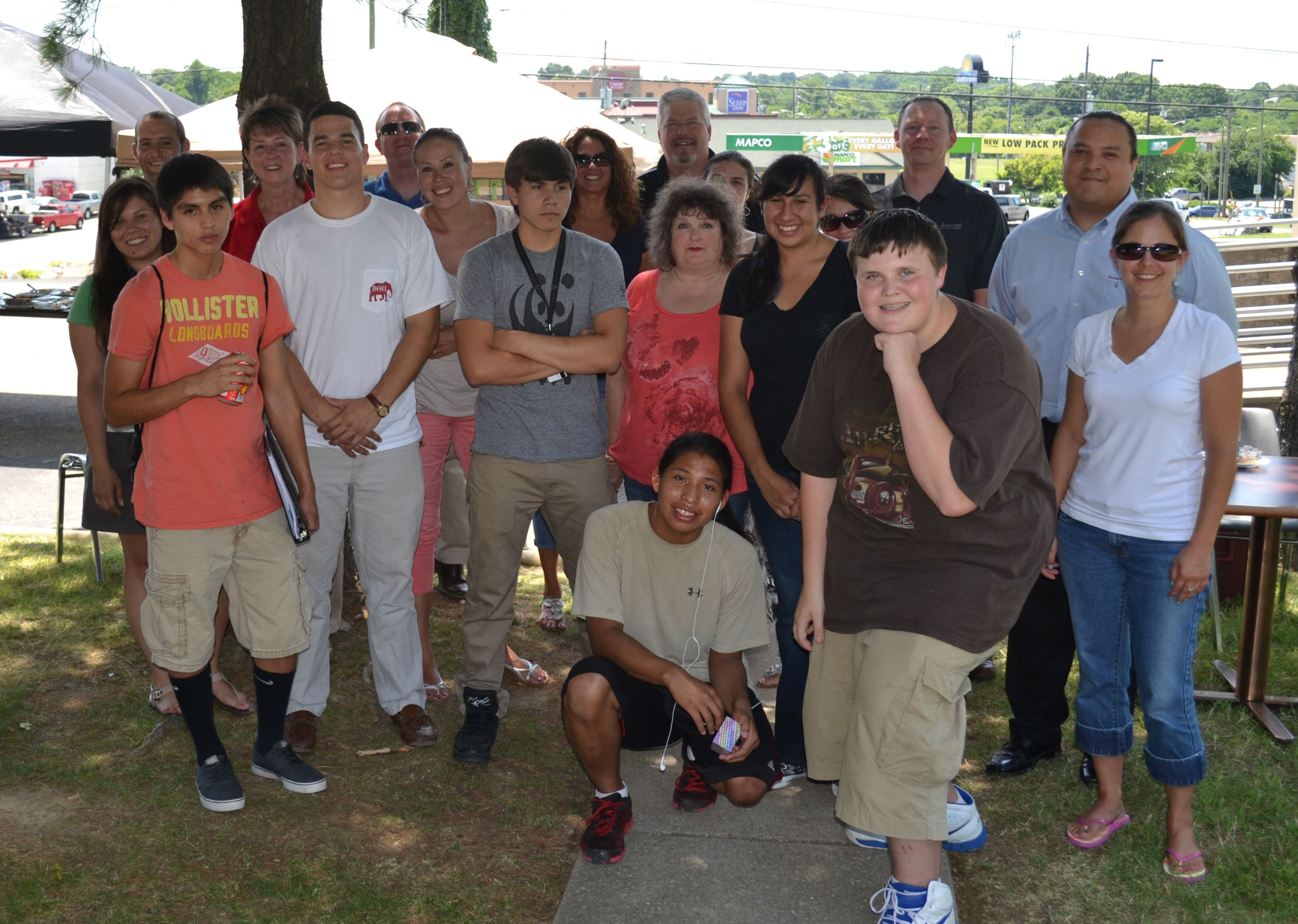 USET Staff hosts Tribal Aspirnaut Students at Nashville headquarters